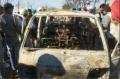 Four School Children Burnt Alive after Van Catches Fire