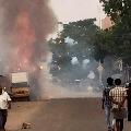 Heavy blast at a firecracker unit in Tamilnadu