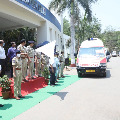 Cyberabad CP Sajjanar launches special ambulances