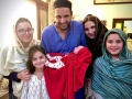 Another girl child for Afridi