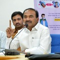 Telangana health minister Eatala reviews latest situation