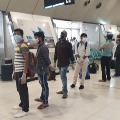 Flight Landed in RGIA from Kuwait