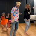 Warner and family dance again for a popular song