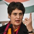 Priyanka Gandhi slams Yogi Adityanath over hoardings