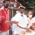 Director Shekar Kammula contributes mila and butter milk packets