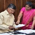 Chandrababu Naidu wishes Vangalapudi Anitha