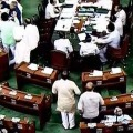 Opposition parties demonds Shah resignation in Lok Sabha