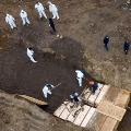 Unclaimed bodies of corona victims buried in New York Hart Island