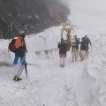 Chardham Yatra Started amid Heavy Snow and Lockdown