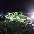 Corona Medicine Flight Accident in Manila