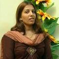 Actress Tara Chowdary fires on Pamuru SI