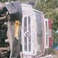 Ambulance carrying corona patients met with accident in Guntur