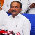 Eatala Rajender says no shake hand with others