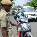 Biker Changed Number of Vehicle to escape Challans