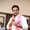 KTR said around seventy four plus lakh bank accounts in Telangana will be credited tomorrow
