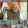 Ramojirao and ABN Radhakrishna attended meeting with Modi
