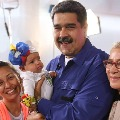 Venezuela president Nicolas Maduro calls women to give birth for six children