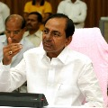 CM KCR attends video conference conducted by PM Modi
