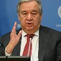 UN Secretary General Antonio Guterres responds on corona situations