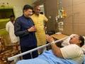 Union minister PiyushGoyal paid a visit to Dharmapuri Srinivas