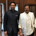 Mohan Babu and his son adapt eight villages