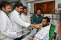 Two Youth who have completed 151 hours hunger strike were given lemon juice by Nara Lokesh