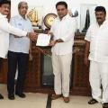 Telangana film chamber of commerce Donated 25 lakhs to Telangana CM Relief Fund