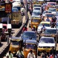 Heavy Traffic in Hyderabad after Lockdown Exemptions