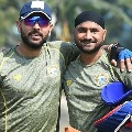 Twitter divided after Yuvraj Singh and Harbhajan Singh support Shahid Afridi