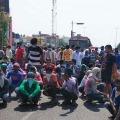 Ramagundam NTPC Migrant workers Dharna