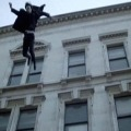 jumped from building