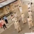 Flower Shower on Nafpur Police