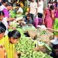 super croud in telugu states rythu bajars