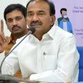 Health Minister Eatala says corona cases hike in Telangana