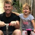 David Warner and his Daughter Indi Dance To Katrina Kaifs Blockbuster Song