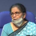 RS 3 laks crores to MSMEs says Nirmala Sitharaman